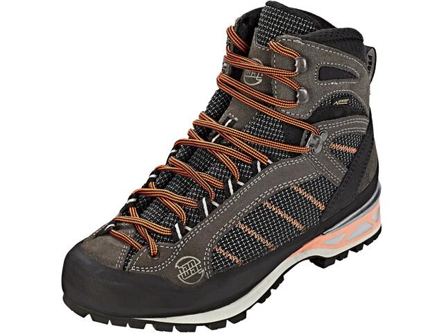 Hanwag Makra Combi GTX Zapatillas Mujer, asphalt/orink